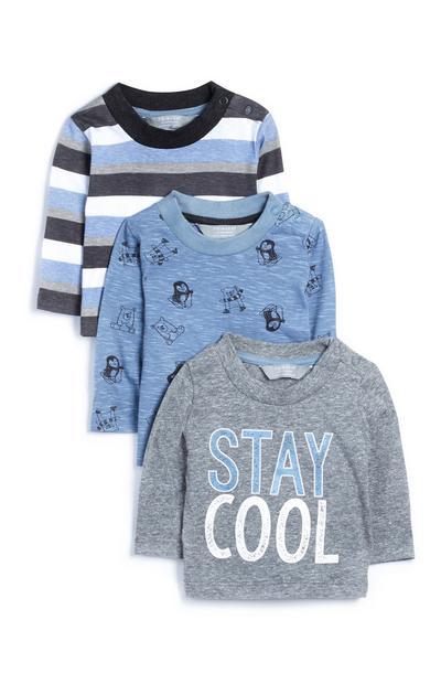 Baby Boy T-Shirts 3Pk