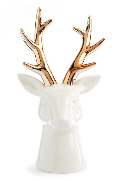Ceramic Stags Head