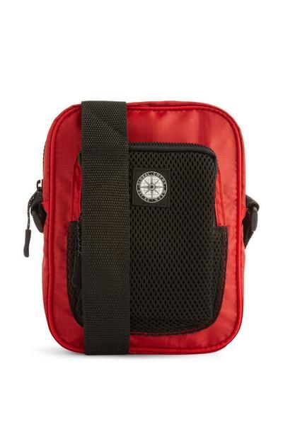 Rote Messenger-Tasche