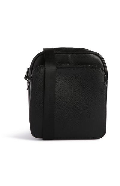 Zwarte schoudertas