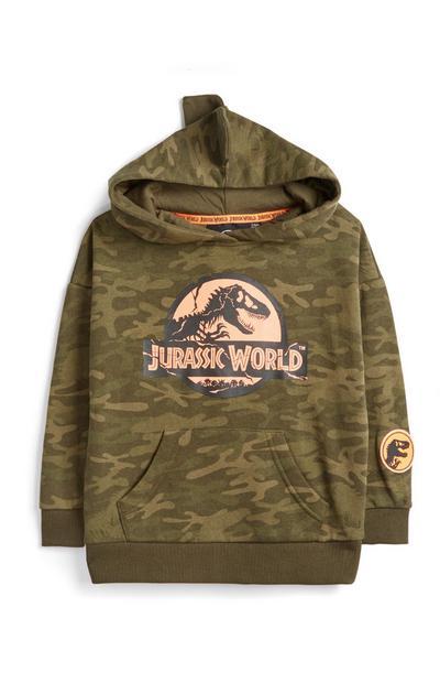 Felpa con cappuccio Jurassic World da bambino