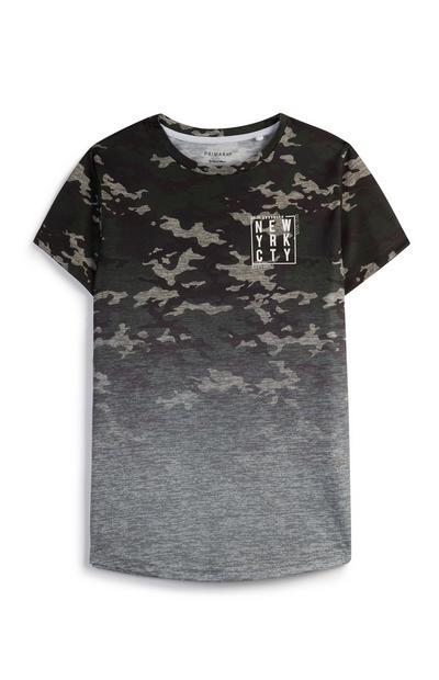 Older Boy Ombré Camo T-Shirt