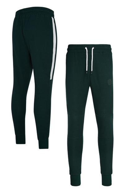 Groene joggingbroek