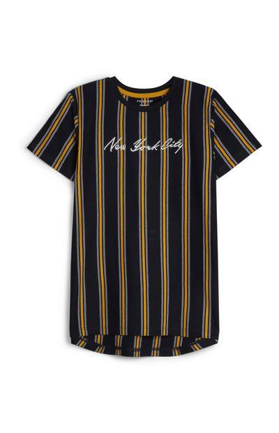 T-shirt à rayures ado