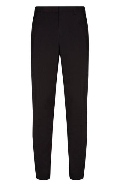 Pantalon en sergé noir
