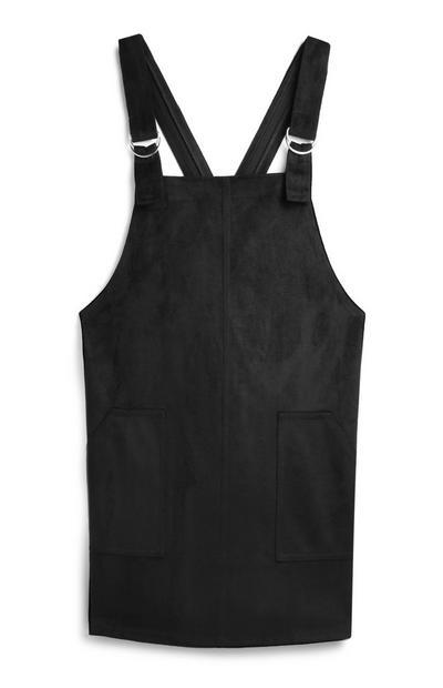 Tan Pinafore Dress