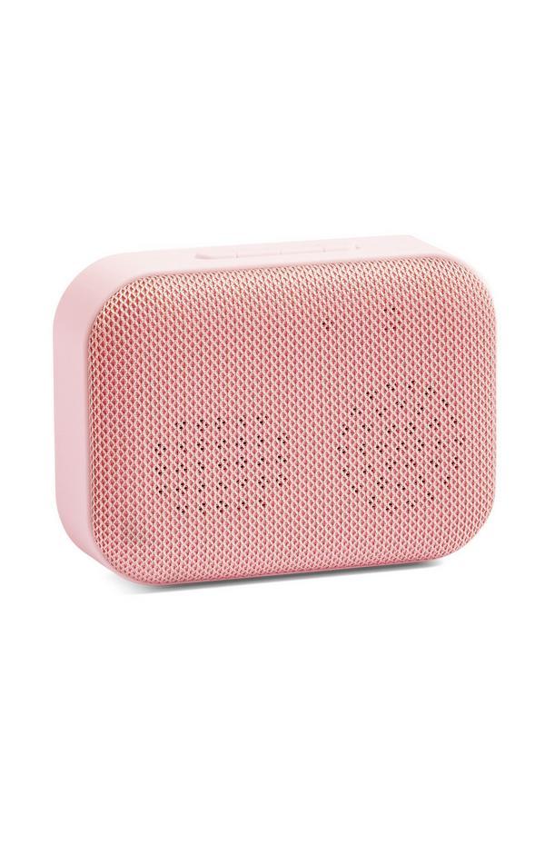 Rožnat brezžični zvočnik