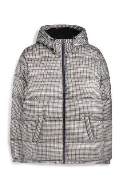 Check Padded Jacket