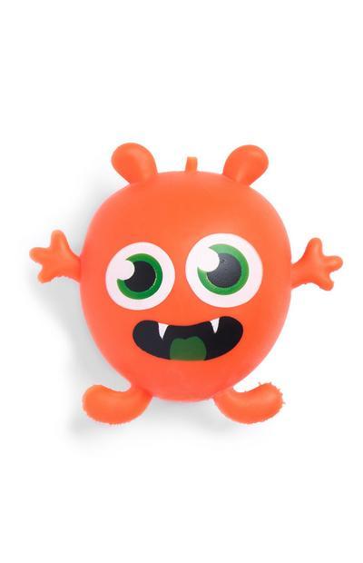 Monstro maníaco cor de laranja