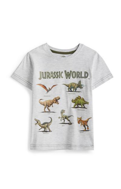 T-shirt Jurassic World menino