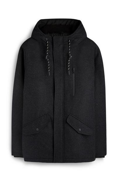 Wollen hoodie