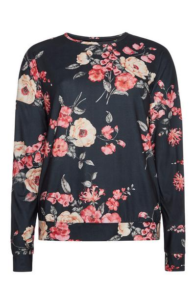 Floral Lounge Top