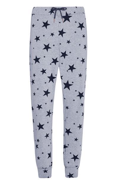 Pantalón de pijama con estrellas