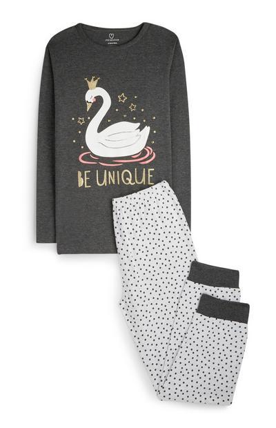 Pantalon et t-shirt de pyjama Be Unique ado