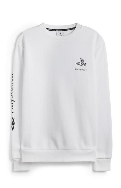 Witte trui Playstation