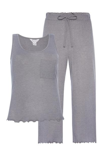Purple Loungewear Set 2Pc