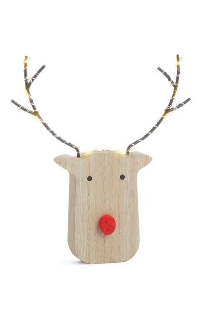 Reindeer Light Up Ornament