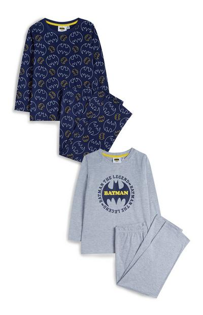 Pack 2 pijamas Batman menino