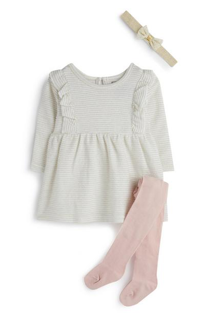 Baby Girl Outfit 3Pc