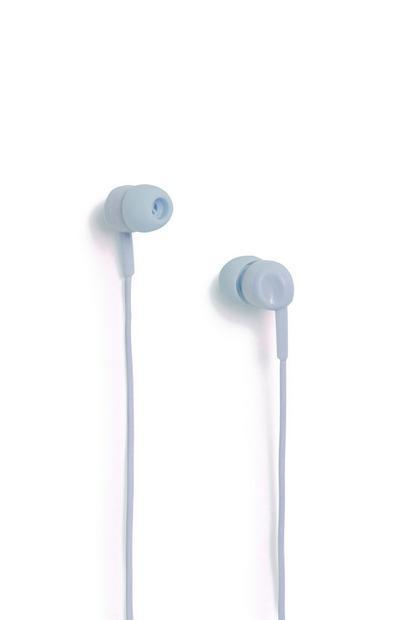 Dunkelblaue Kopfhörer
