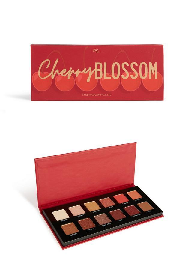 Paleta de sombras de ojos rojiza «Cherry Blossom»