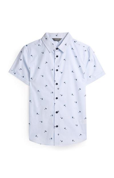 Camiseta con estampado de palmeras para niño pequeño