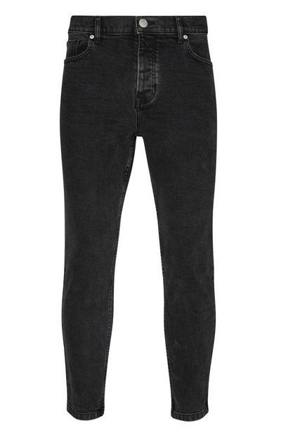 Jean slim noir stretch