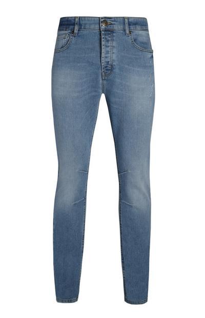 Lichtblauwe slimfit jeans