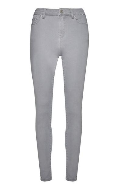 Dark Gray Super Strech Skinny Jeans