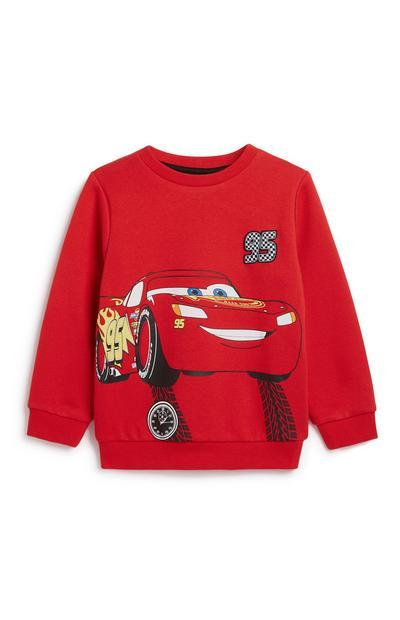 Younger Boy Cars Sweatshirt