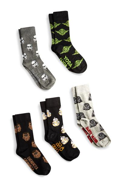 Star Wars Socks 5Pk