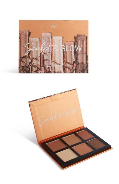 Paleta rosto Sculpt And Glow