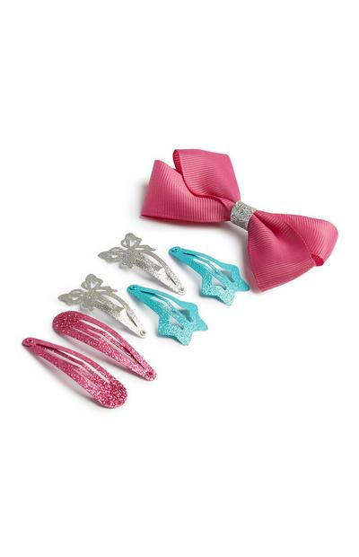 7-Pack Bow Clips