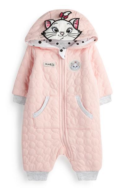 Baby Girl Pink Marie Onesie