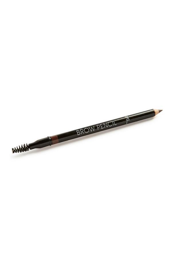 Lápis sobrancelhas castanho médio com afia