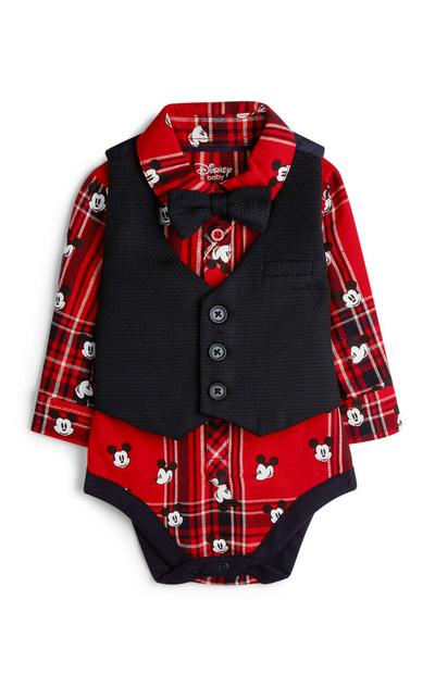 Newborn Boy Mickey Mouse Formal 3Pc Outfit