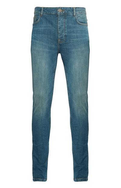 Verblasste Skinny-Jeans mit Stretchanteil