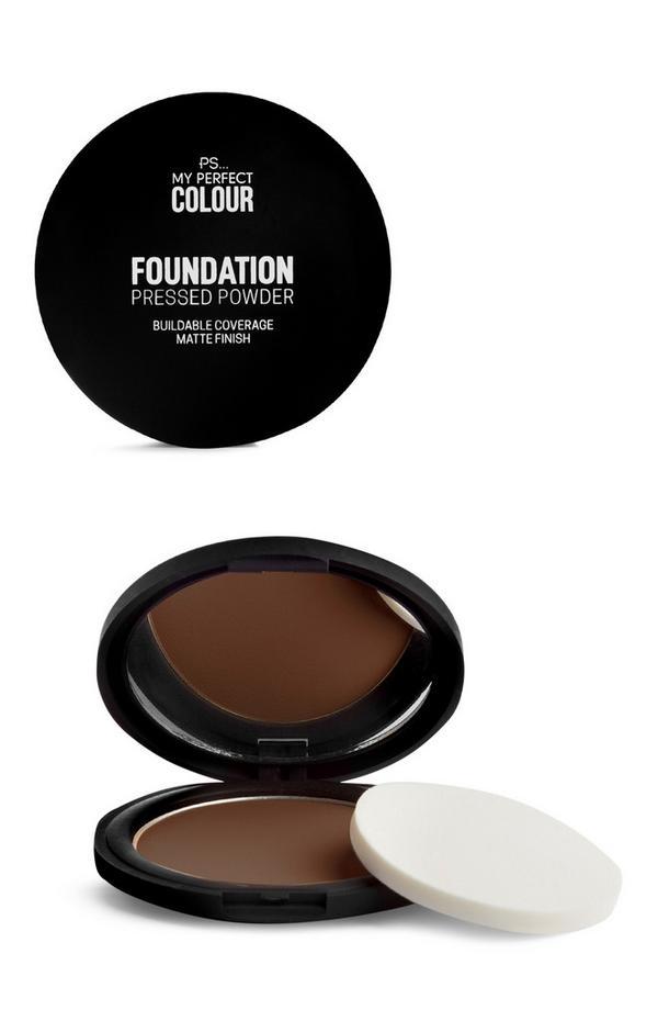 Foundation-Puder in Kastanie