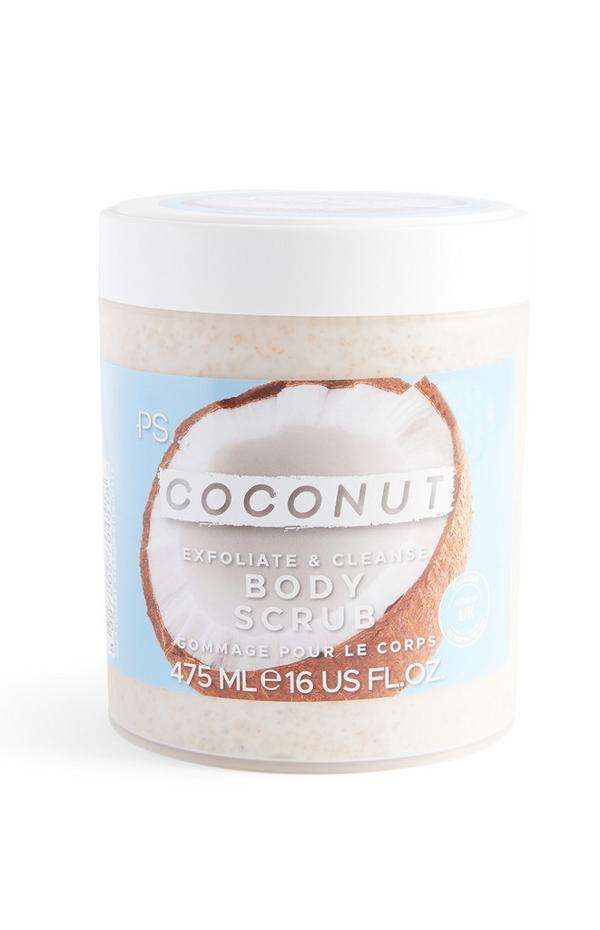 Scrub corpo esfoliante e purificante Ps al cocco