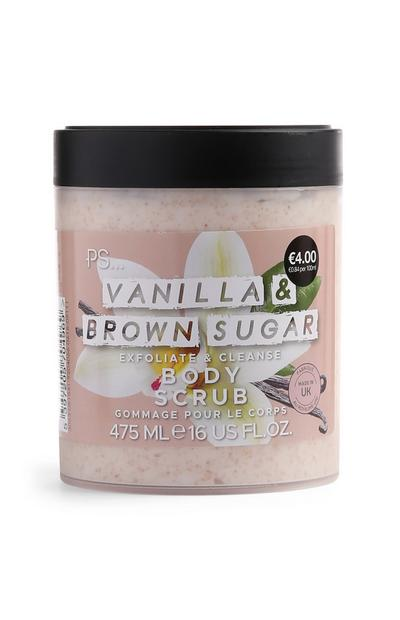 Exfoliante corporal «Vanilla & Brown Sugar»