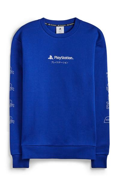 Blauwe trui Playstation