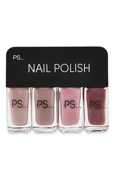 4-Pack PS Nail Polish