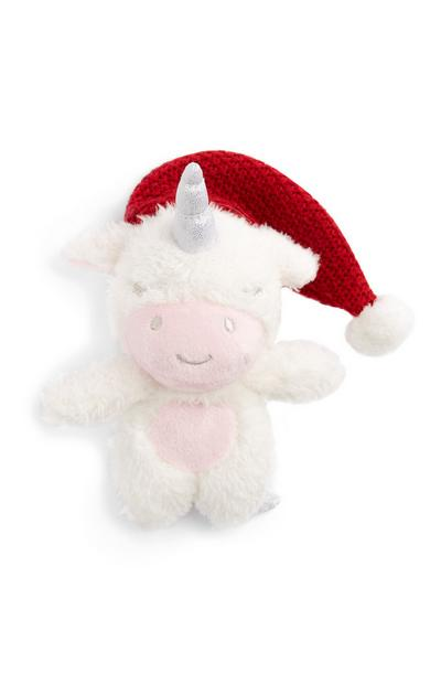 Unicorn Christmas Plush