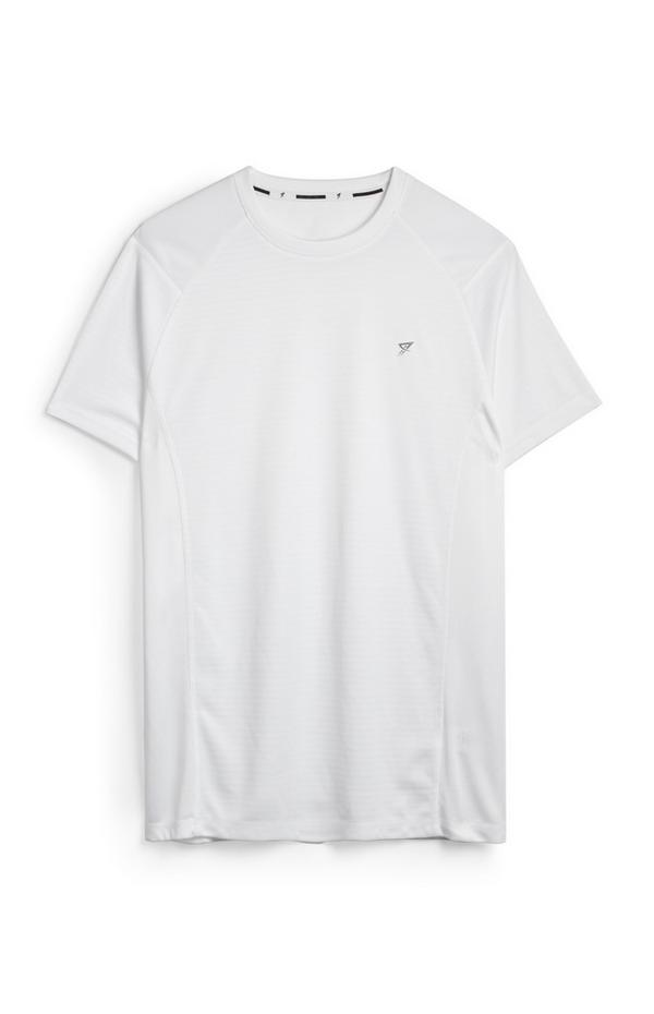 Weißes Trainingsshirt
