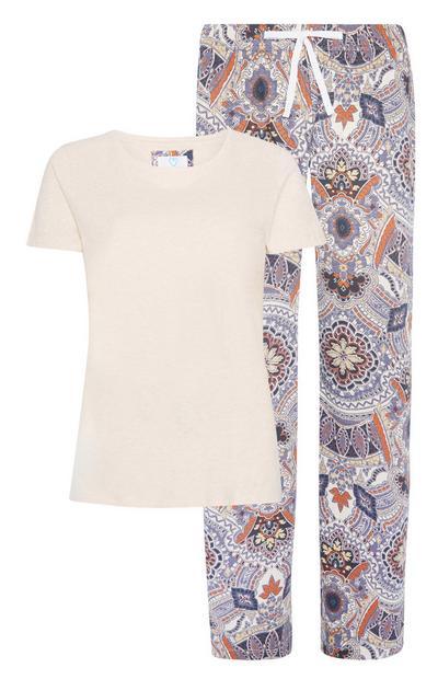 Pijama sostenible de 2 piezas