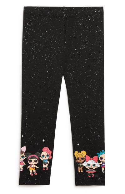 Younger Girl  Lol Dolls Crop Legging