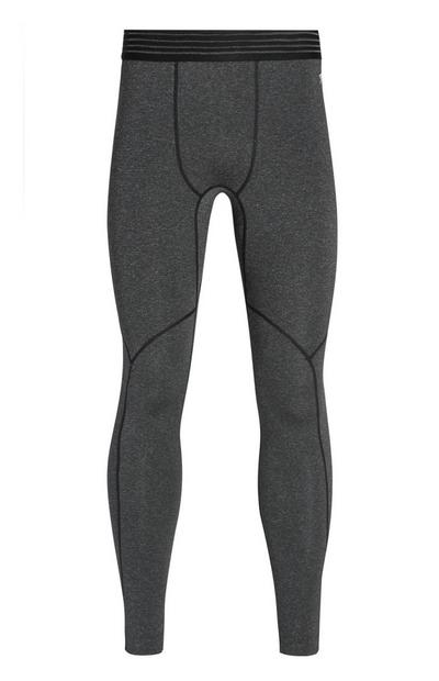 Leggings grises sin costuras