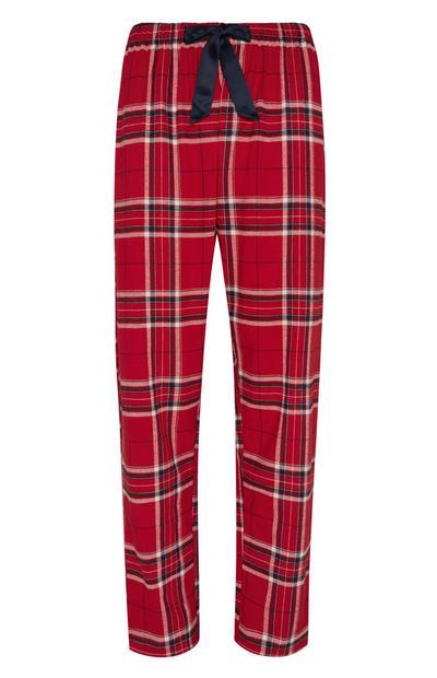 Red Flannel Pj Trouser