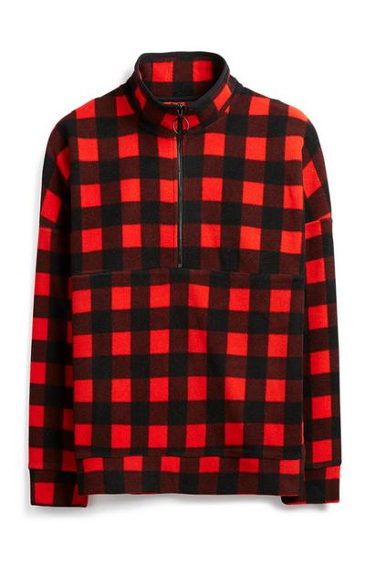 Red Check Jacket