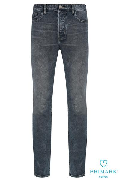 Gray Sustainable Cotton Jeans